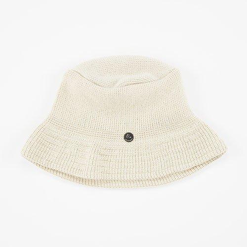 KNIT CAP / BUCKET / BEIGE (ニットキャップ / バケット / ベージュ)「帽子」
