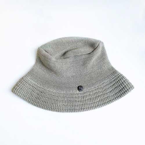 KNIT CAP / BUCKET / GRAY (ニットキャップ / バケット / グレー)「帽子」