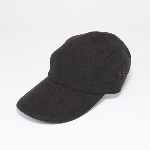 JET CAP / PE MELTON / BLACK(ジェットキャップ/ ピーイーメルトン/ ブラック)「帽子」