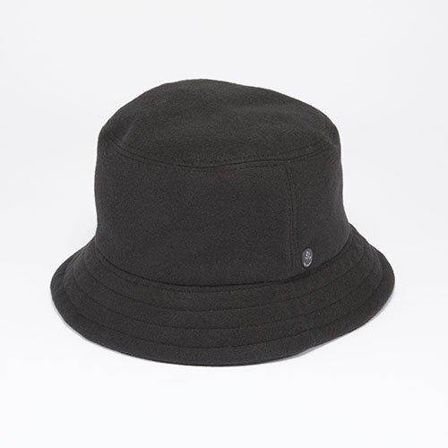 <font color=red>NEW</font> BUCKET HAT / PE MELTON / BLACK(バケットハット/ ピーイーメルトン / ブラック)「帽子」
