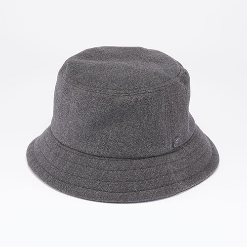 <font color=red>NEW</font> BUCKET HAT / PE MELTON / GRAY(バケットハット/ ピーイーメルトン / グレー)「帽子」