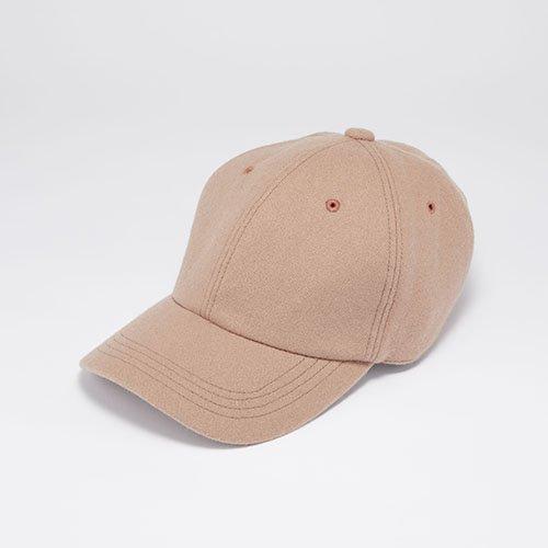 6 PANEL CAP / JS MELTON / DEEP PINK(6パネルキャップ/ ジェイエス メルトン/ ディープピンク)「帽子」