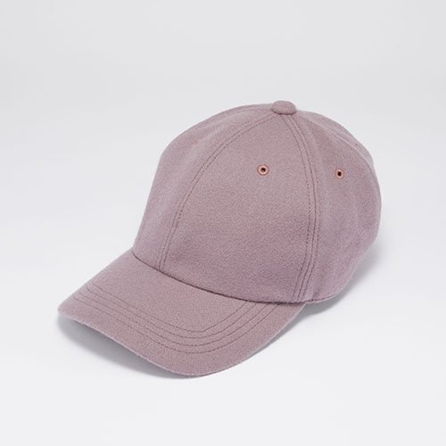 6 PANEL CAP / JS MELTON / DARK PURPLE(6パネルキャップ/ ジェイエス メルトン/ ダークパープル)「帽子」