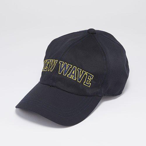 <font color=red>NEW</font> 6 PANEL CAP / NEW WAVE / BLACK(6パネルキャップ/ ニューウェーブ/ ネイビー)「帽子」