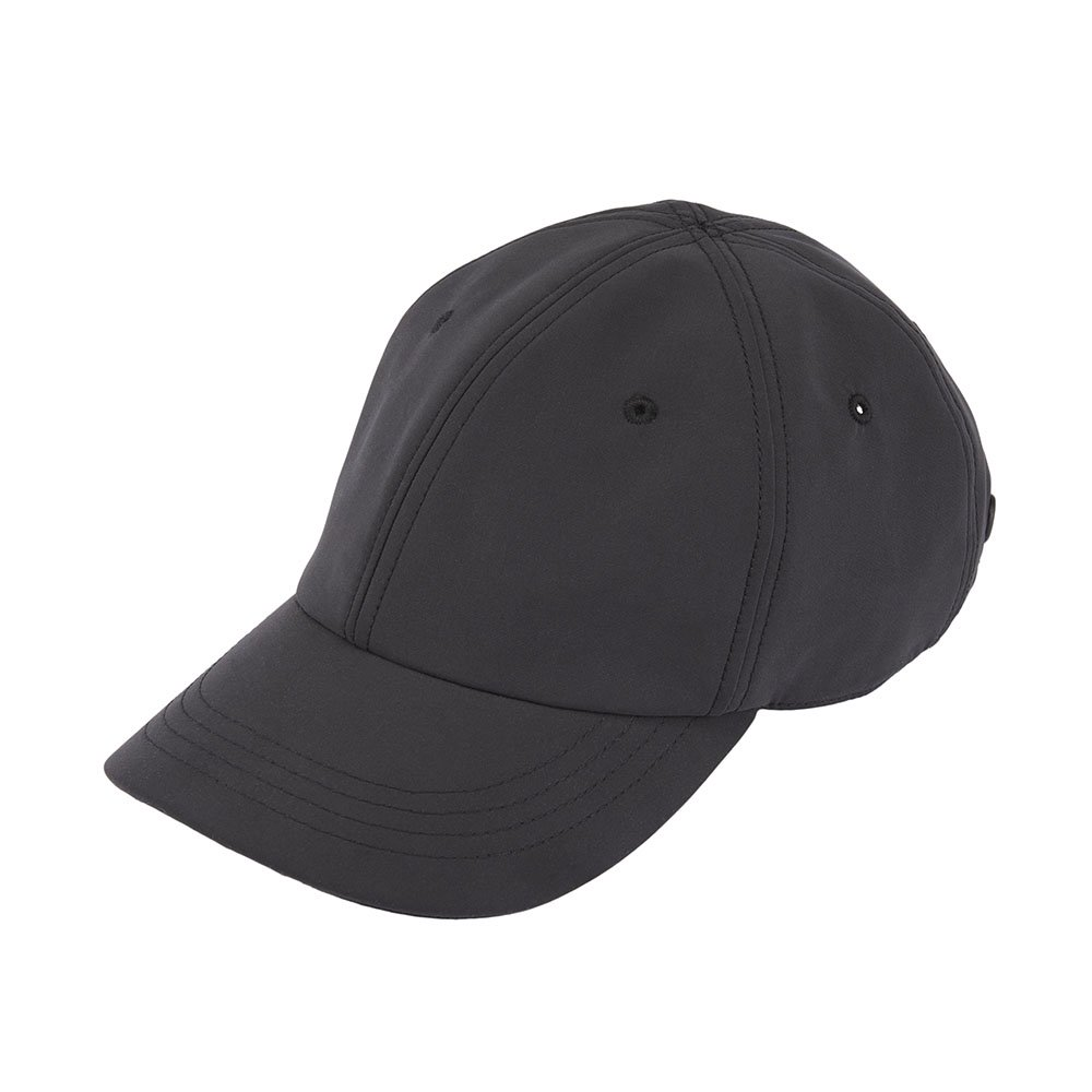 <font color=red>RE STOCK</font> 6 PANNEL CAP / MATT POLY / BLACK(6パネルキャップ / マットポリ / ブラック)「帽子」