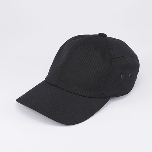 6 JET CAP / NYLON TWILL / BLACK(6ジェットキャップ / ナイロンツイル / ブラック)「帽子」