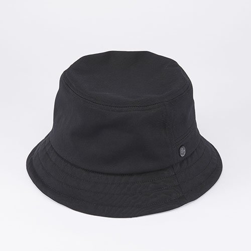 <font color=red>SOLD OUT</font> BUCKET HAT / NYLON TWILL / BLACK(バケットハット/ ナイロンツイル/ ブラック)「帽子」
