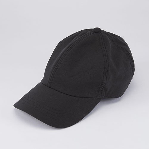 <font color=red>NEW</font> 6 PANNEL CAP / NYLON / BLACK(6パネルキャップ / ナイロン / ブラック)「帽子」
