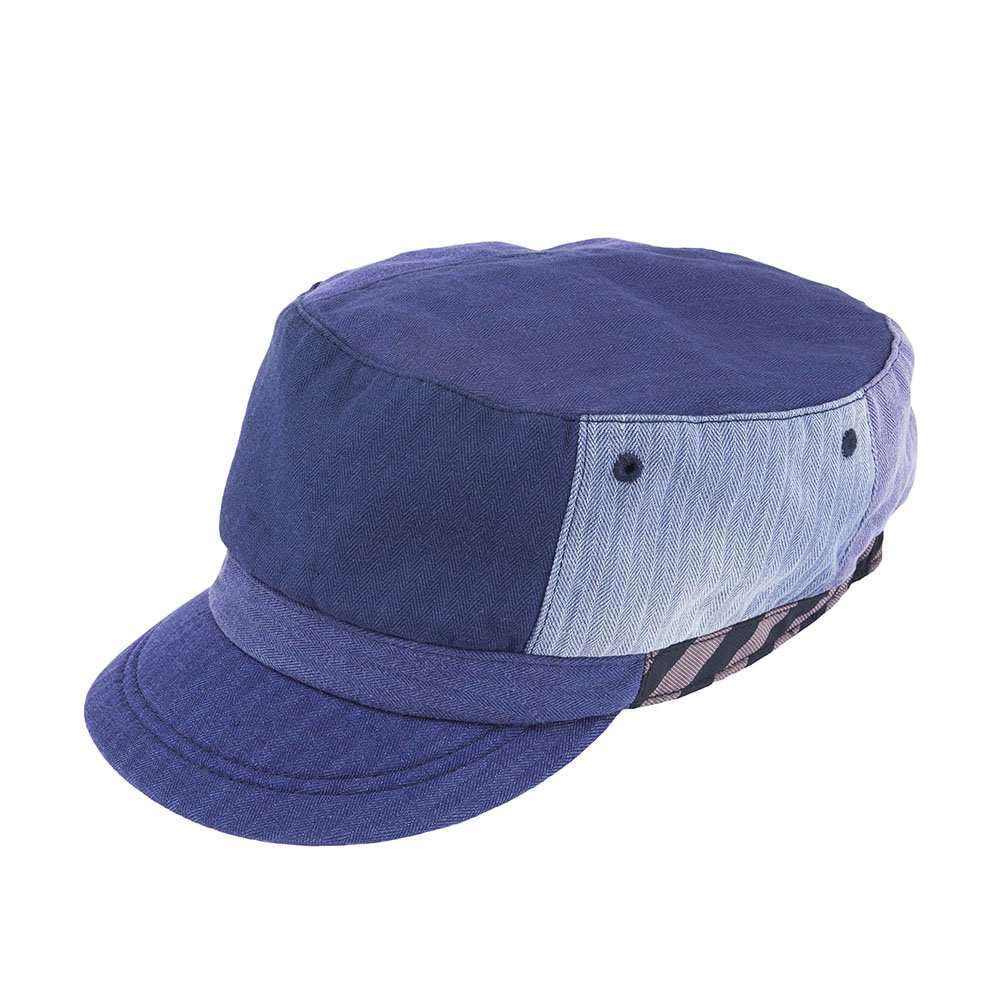 <font color=red>NEW</font>WORK CAP / RE MAKE / NAVY(ワークキャップ / リメイク / ネイビー)「帽子」