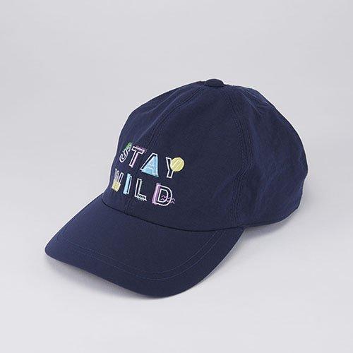 WHOPOP / STAY WILD / NAVY(フーポップ / ステイワイルド / ネイビー)「帽子」