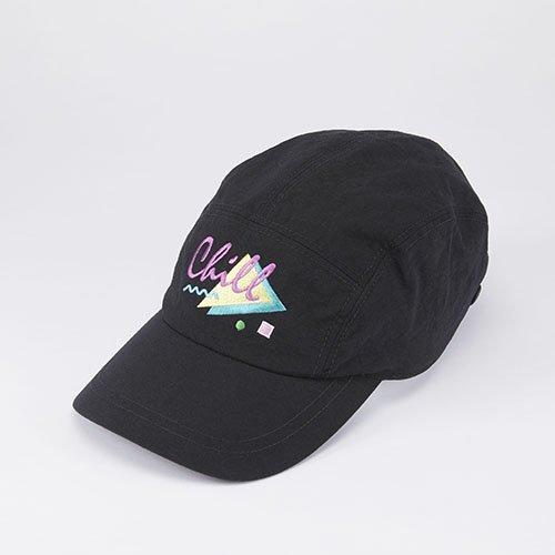 WHOPOP / CHILL / BLACK(フーポップ / チル / ブラック)「帽子」