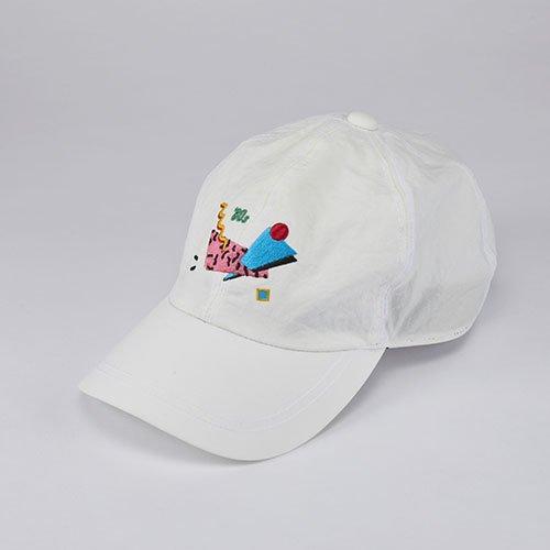 WHOPOP / 80s / WHITE(フーポップ / エイティーズ / ホワイト)「帽子」