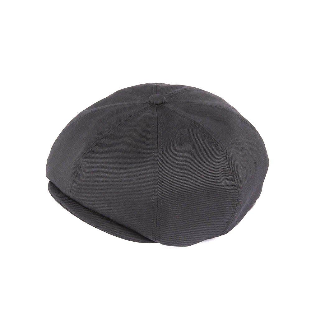 <font color=red>RE STOCK</font> 530TC TWILL CASQUETTE / BLACK(530TC ツイルキャスケット/ ブラック)「帽子」
