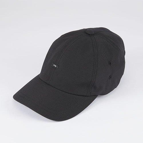 6 PANNEL CAP / POPLIN BAGGY / BLACK(6パネルキャップ / ポプリンバギー / ブラック)「帽子」