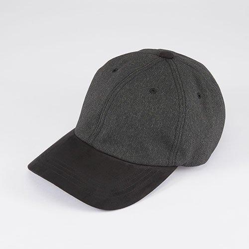 <font color=red>NEW</font>  6 PANNEL CAP / PIN HEAD / BLACK(6パネルキャップ / ピンヘッド / ブラック)「帽子」
