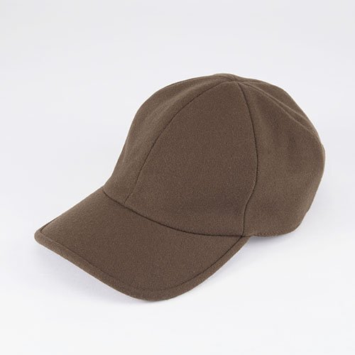 <font color=red>NEW</font>  6 PANNEL CAP / FLANNEL / BROWN(6パネルキャップ / フランネル / ブラウン)「帽子」