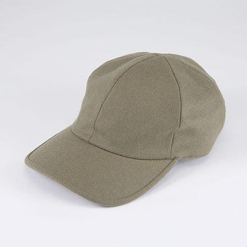 <font color=red>NEW</font>  6 PANNEL CAP / FLANNEL / KHAKI(6パネルキャップ / フランネル / カーキ)「帽子」