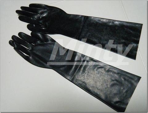 大人のセクシーラバー♪黒ブラックロンググローブ手袋0154bk
