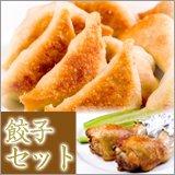 もっちり餃子40個・手羽餃子5本セット(冷凍)
