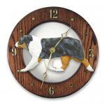 オーストラリアンシェパード 掛け時計