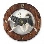 アラスカンマラミュート 掛け時計