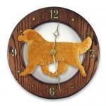 ゴールデンレトリバー 掛け時計