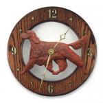 アイリッシュセッター 掛け時計