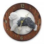 オールドイングリッシュシプドッグ 掛け時計