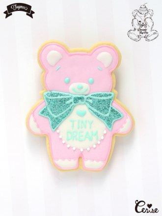 Toyme×MAKI Tiny Dream Bearブローチ (ストロベリー)