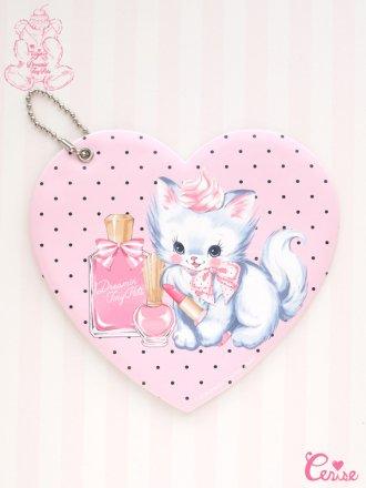 Dreamin' Tiny Pets ハートパスケース『Precious Cat』