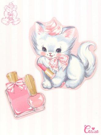 Dreamin' Tiny Pets ダイカットカード『Precious Cat』