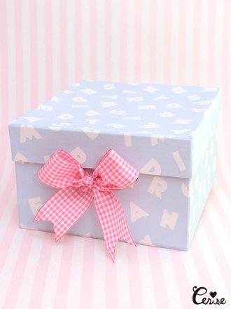 Hat Box アルファベットpt.収納BOX