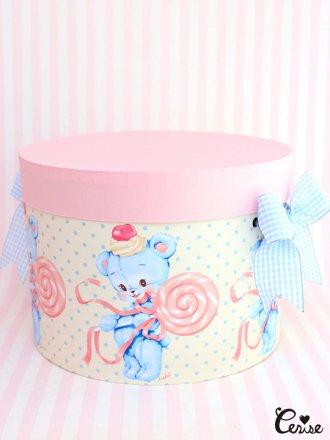 Hat Box ロリポップベア帽子箱2