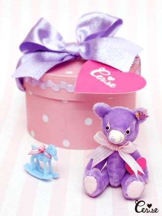 Cerise My Li'l Buddy in Hatbox Set (ラベンダー)