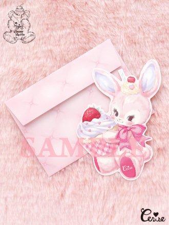 Dreamin' Tiny Pets ダイカットカード『Cherie Bunny』