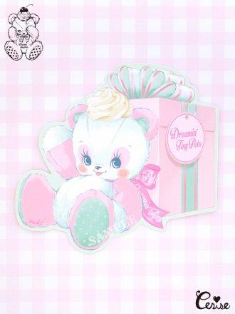 Dreamin' Tiny Pets ダイカットカード『MAKI Panda』