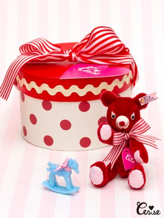 Cerise My Li'l Buddy in Hatbox Set (レッド)
