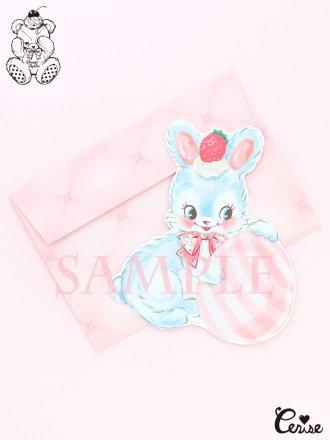 Dreamin' Tiny Pets ダイカットカード『Egg'n Bunny』