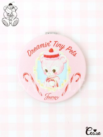 Dreamin' Tiny Pets コンパクトミラー『Journey the Teddy Bear』
