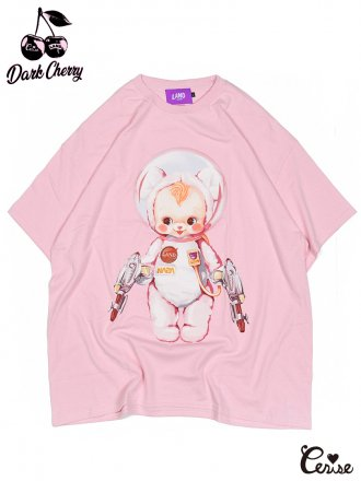 LAND by MILKBOY × Cerise ASTROBOY BIG TEE (ピンク)