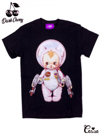 <img class='new_mark_img1' src='https://img.shop-pro.jp/img/new/icons50.gif' style='border:none;display:inline;margin:0px;padding:0px;width:auto;' />LAND by MILKBOY × Cerise ASTROBOY TEE (ブラック×ピンクベアpt)(S)