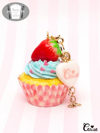 Tommy fell in love with sweets!  × Cerise スウィーティーストロベリーカップケーキ (ピンクカップ)