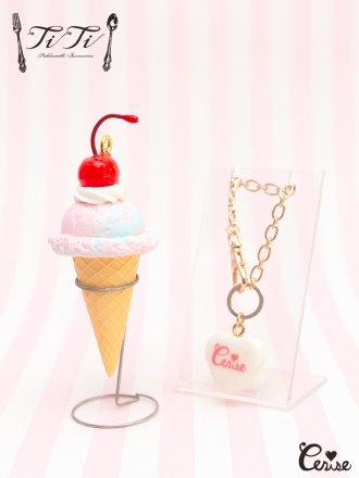 TiTi × Cerise スウィーティーチェリーアイスクリーム (ブルーmix)