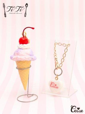 TiTi × Cerise スウィーティーチェリーアイスクリーム (パープルmix)