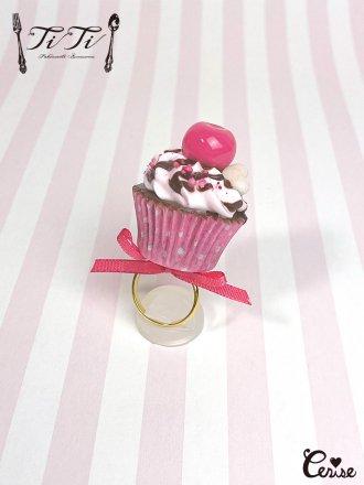 TiTi × Cerise チェリーショコラカップケーキリング