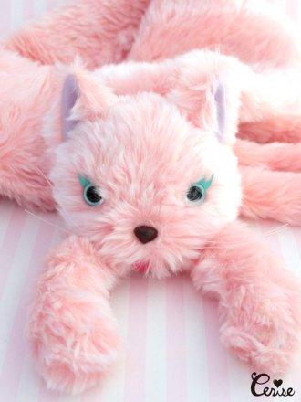 Cerise ドリーミーCATマフラー(ピンク)