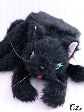 Cerise ドリーミーCATマフラー(ブラック)