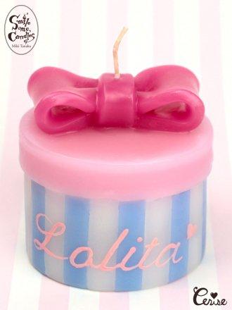 Smile me, Candles ハットボックスキャンドル(Lolita)