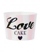 Miss Etoile Love CAKEベーキングカップ(ピンク)(M)