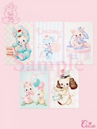 Dreamin' Tiny Pets ポストカードセット 『Lollipop Bear』